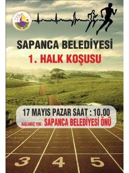 Sapanca Halkı Pazar Günü Birlikte Koşacak