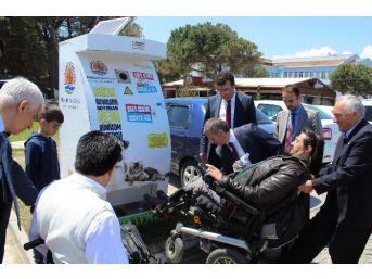 Atakum'daki Mamamatikleri Engelliler Denetleyecek