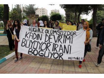 Şanlıurfa'Da Kadınlardan Zılgıtlı Yürüyüş