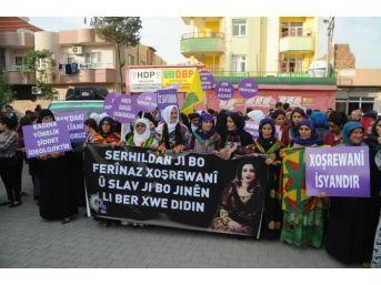 İran'daki Tecavüz Olayı Cizre'de Protesto Edildi