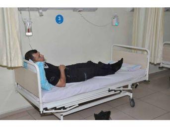 Bitlis'te Polis Aracı Kaza Yaptı: 17 Yaralı