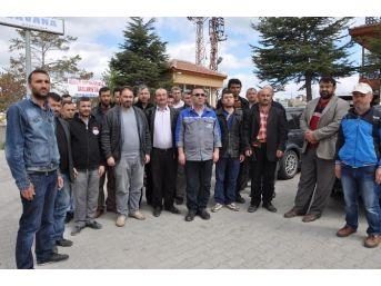 7 Aydır Maaşlarını Alamayan Maden İşçileri İş Bıraktı