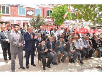 Saadet Partisi Sorgun Seçim İrtibat Bürosu Açıldı