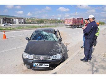 Sorgun Trafik Kazası: 1 Yaralı