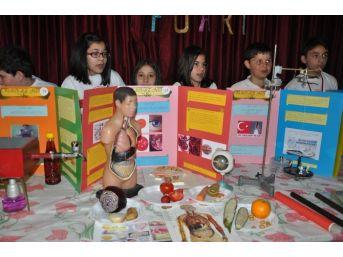 Sorgun Tübitak Bilim Fuarı Sergisi Açıldı