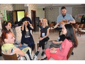 Yozgat'ta 'obez Olma Hareketli Ol' Projesine 7 Ülkeden Destek