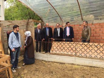 Çaycuma Kaymakamı Serkan Keçeli Çeşitli Tarımsal İşletmeleri Ziyaret Etti