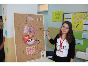 Kdz. Ereğli Fen Lisesi'nde Ki Bilim Şenliğini 500 Öğrenci Gezdi