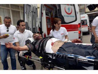 Cezaevi Firarisi Kendisini Yakalayan Polisi Bıçakladı
