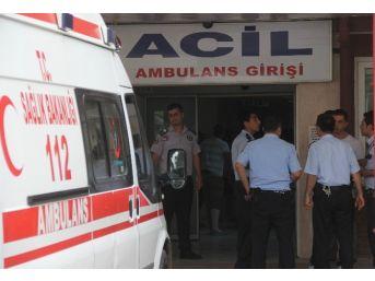 Cezaevi Firarisi Polisi Bıçakladı