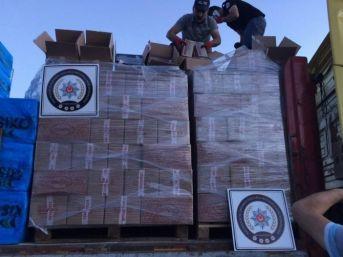 Afyonkarahisar'da 50 Bin Paket Gümrük Kaçağı Sigara Ele Geçirildi