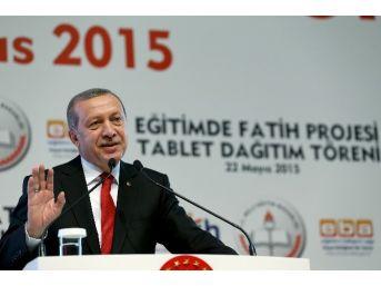 Fatih Projesi Tablet Dağıtım Töreni