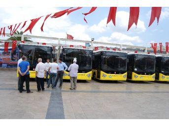 Aydınlıların Yeni Otobüsleri Görücüye Çıktı