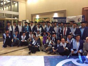 İzmir Atatürk Lisesi 85 Mezunları 30 Yıl Sonra Kep Giydiler