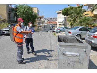 Kuşadası Belediyesi'nde İlaçlama Çalışmaları