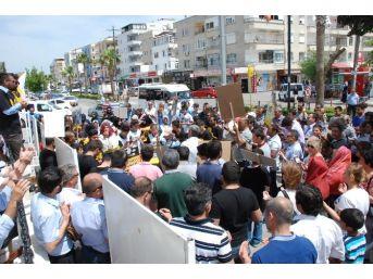 Mursi'nin İdam Kararını Didim'den Protesto Sesleri…