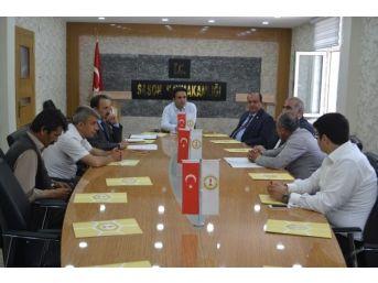 Sason'da İnsan Hakları Kurulu Mayıs Ayı Toplantısı Yapıldı