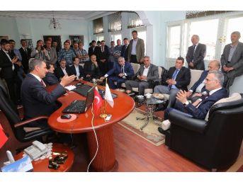 Ak Parti Adayı Ağbal Aydıntepe'de Seçim Çalışmalarını Sürdürdü