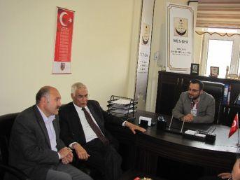 İçişleri Eski Bakanı Güney'den Müs-der'e Ziyaret…