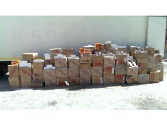 Bitlis 96 Bin Paket Kaçak Sigara Ele Geçirildi