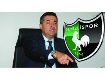 Denizlispor'da Başkan Kıbrıslıoğlu Istifa Etti