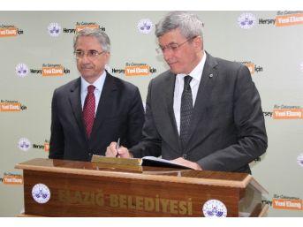 Adalet Bakanı Kenan İpek Elazığ'da