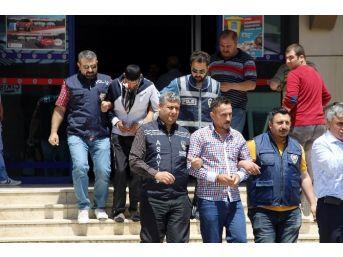 Gaziantep'te Cinayet Zanlıları Adliyeye Sevk Edildi