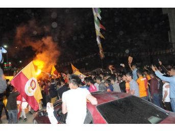 Hakkari'de Galatasaray Coşkusu...