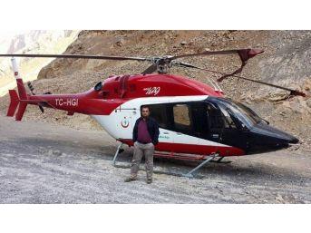 Helikopterin Karayoluna Acil İniş Yapması
