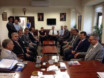 Dsi'den Başkan Badem'e Ziyaret