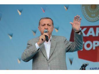 Cumhurbaşkanı Erdoğan Kahramanmaraş'ta Konuştu