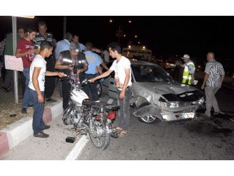 Mersin'de Trafik Kazası : 1 Ölü, 1 Yaralı