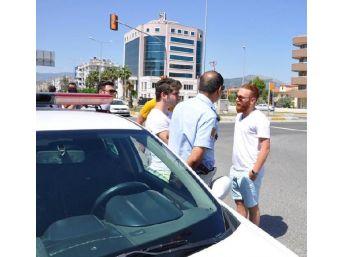Polisin 'dur' Ihtarına Uymayan Otomobilden 'havuç' Çıktı