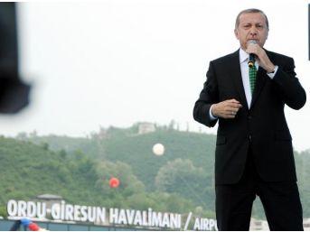 Ordu-Giresun Havalimanı Açılışına Katılan Başbakan Davutoğlu: Bizim Meselemiz, Koltuk Meselesi Değil (2)