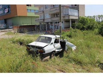 Çarşamba'da Trafik Kazası : 2 Yaralı
