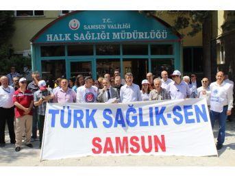 Türk Sağlık-sen'den Basın Açıklaması