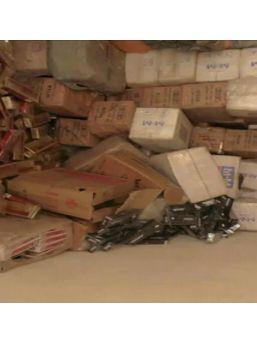Uşak'ta 42 Bin Paket Gümrük Kaçağı Sigara Ele Geçirildi