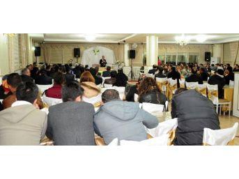 Prof. Dr. Çaha, Eğitim Camiası İle Biraraya Geldi