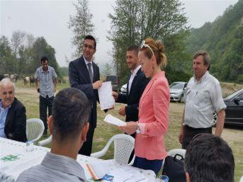 Çaycuma'da Süt Sığırı Yetiştiriciliği Kursu Belge Töreni Yapıldı