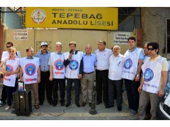 Adana'da Okul Müdürleri Bıçaklandı, Sendikalar Tepki Gösterdi