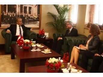Hollanda Büyükelçisi Keller Adana'da