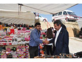 Milletvekili Adayı Ürün Seçim Çalışmalarını Sürdürüyor