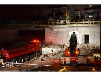 Başkent'te Çimento Fabrikasında Patlama: 3 Ölü, 2 Yaralı