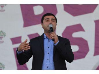 Hdp Eş Genel Başkanı Demirtaş'ın Antalya Mitingi
