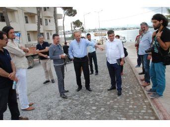 Başkan Atabay, Çalışmaları Yerinde Anlattı