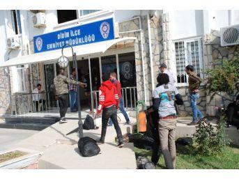 Didim'de 18 Kaçak Göçmeni Yakaladı