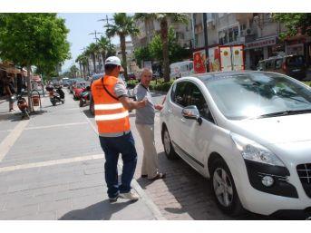 Didim'de Büyükşehir Otopark Görevlileri Hizmete Başladı