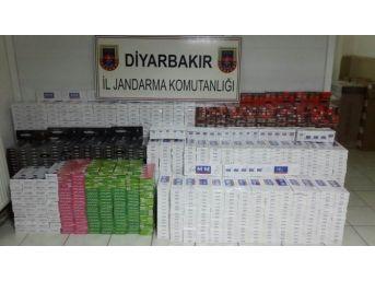 Diyarbakır'da 32 Bin 755 Paket Kaçak Sigara Ele Geçirildi