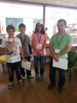 Bilim Ve Sanat Merkezi Öğrencileri Ulusal Karikatür Olimpiyatında