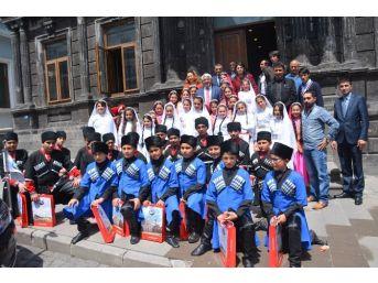 Minik Sporcular Başkan Karaçanta'yı Ziyaret Etti